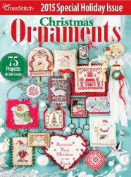 Just Cross Stitch Christmas Ornaments 2015
