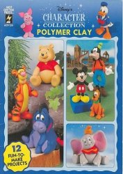 Disney's characters collection polymer clay