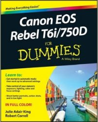 Canon EOS Rebel T6i/750D for Dummies