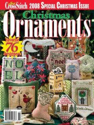 Just Cross Stitch, Christmas Ornaments 2008