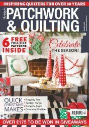 Patchwork and Quilting  №275 2016