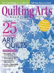 Quilting Arts Magazine №11 - 12 2016/2017