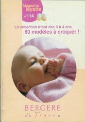 Bergere de France №114 2001 Magazine Layette
