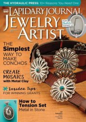 Lapidary Journal Jewelry Artist, December 2016