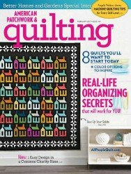American Patchwork & Quilting  №144 2017