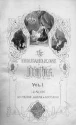 The thousand and one nights (in 3 volumes)