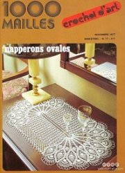 1000 Mailles №17 1977 Napperons ovales