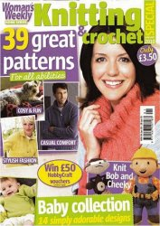Womans Weekly Knitting & Crochet 2010 January