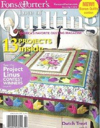 Love of Quilting №86 2010