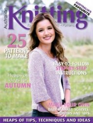 Australian Knitting - Volume 9 №1 2017
