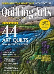 Quilting Arts Magazine №86 2017
