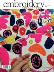 Embroidery Magazine – May/June 2017