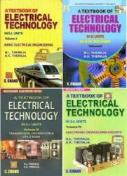 Textbook of Electrical Technology (Multicolour Volume I-IV)