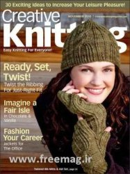 Creative Knitting №11 2010