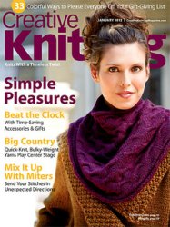Creative Knitting - January 2012