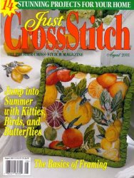Just CrossStitch, July/August 2001