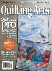 Quilting Arts Magazine №88 2017 August/September