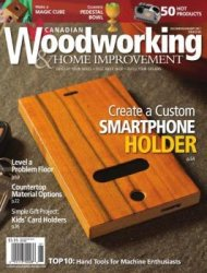 Canadian Woodworking & Home Improvement №105 (декабрь-январь 2017)