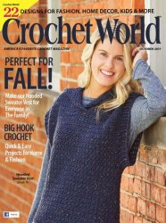 Crochet World — October 2017
