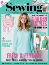 Simply Sewing №33 2017
