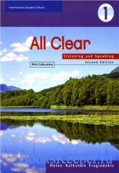 All Clear 1. Listening and Speaking (Book with Answer Key)