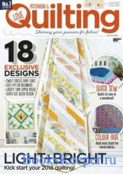 Love Patchwork & Quilting №57 2018