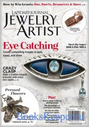 Lapidary Journal Jewelry Artist - March 2018