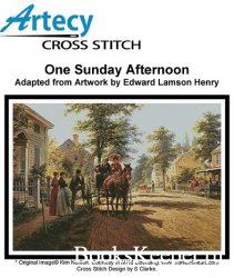 Artecy Cross Stitch - One Sunday Afternoon
