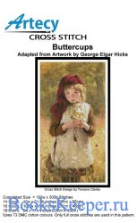 Artecy Cross Stitch - Buttercups