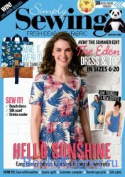 Simply Sewing №43 2018