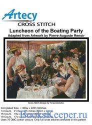 Luncheon of the Boating Party (Artecy Cross Stitch)