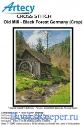 Old Mill - Black Forest, Germany (Artecy Cross Stitch)