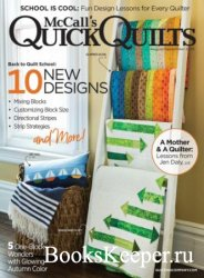 McCall's Quick Quilts – August 2018