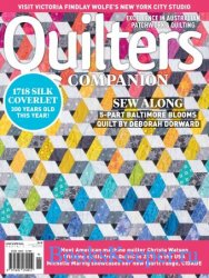 Quilters Companion №92 2018