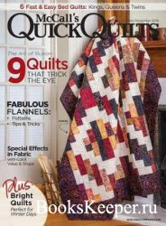 McCall's Quick Quilts Vol.23 №6 2018