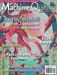 Machine Quilting Unlimited Vol.XVI №6 2016