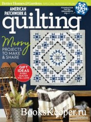 American Patchwork & Quilting №155 2018