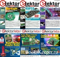 Elektor Electronics №1-12 (January-December 2018) USA