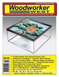 Woodworker West №6 (November-December 2018)