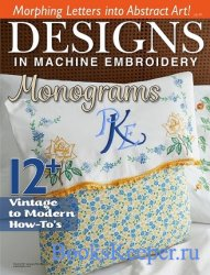 Designs In Machine Embroidery №96 2016