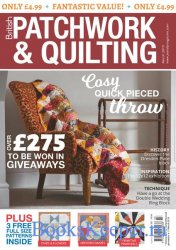 Patchwork & Quilting UK №302 2019