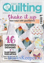 Love Patchwork & Quilting №72 2019