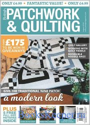 Patchwork & Quilting UK №307 2019