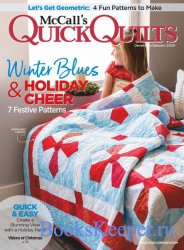 McCall's Quick Quilts Vol.25 №1 2020