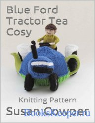 Blue Ford Tractor Tea Cosy: Knitting Pattern