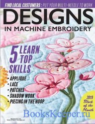 Designs in Machine Embroidery №116 2019