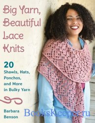 Big Yarn, Beautiful Lace Knits: 20 Shawls, Hats, Ponchos, and More in Bulky ...