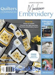 Quilters Companion Machine Embroidery №1 2019