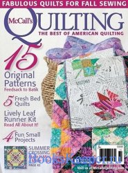 McCall's Quilting - September/October 2015