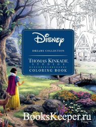 Disney Dreams Collection: Thomas Kinkade Studios Coloring Book